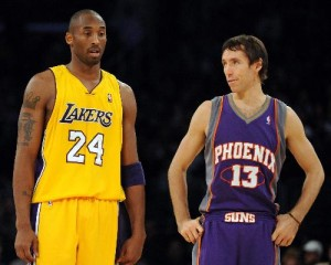 Steve Nash and Kobe Bryant are two of the brightest stars of the decade.