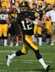 The Hawkeyes struggled once Ricky Stanzi was injured.