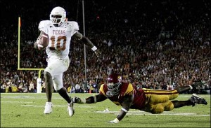 Vince Young's winning touchdown run in the 2006 Rose Bowl is just one of many memorable moments in the history of college bowl games.
