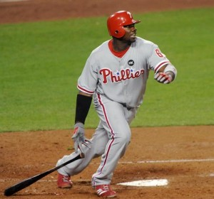 Ryan Howard has averaged 50 home runs and 143 RBI during his four full seasons with the Phillies.