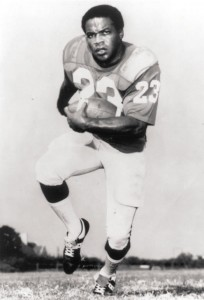 Jerry LeVias, the first African-American scholarship player in the SWC, was an All-American on the field and in the classroom.
