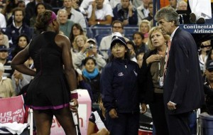 Seerena's impressive 2009 season was somewhat overshadowed by her meltdown at the U.S. Open