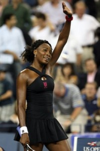 Venus has not won a Grand Slam title other than Wimbledon since 2001.