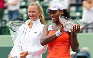 Serena Williams fell to Victoria Azarenka at the Sony Ericsson Open, but still had four of the top nine performances of 2009.
