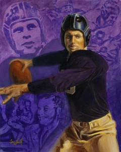 Davey O'Brien was the first Heisman Trophy winner to play in the NFL, but he left after two years to join the FBI.