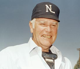 Doug Harvey umpired in the World Series five times in his 31-year career.