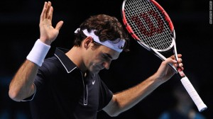 Federer played well enough in the final months of 2009 to finish the year as the top ranked player in the world.