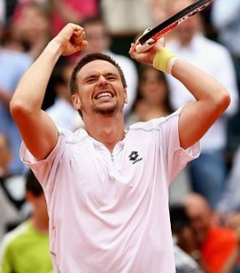 Soderling created the biggest upset in the history of Roland Garros by defeating Rafael Nadal