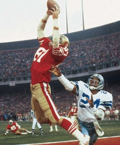 """The Catch"" lifted the 49ers to their first Super Bowl."