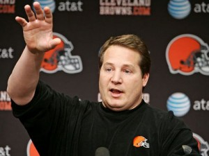 Even with a strong finish, head coach Eric Mangini's  job is in jeopardy.