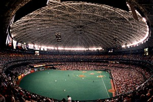 Astroturf was created specifically for the Houston Astrodome.