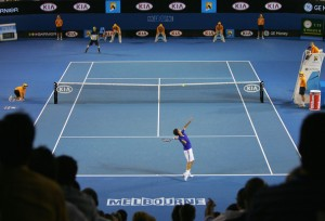 The 2010 Australian Open begins on Monday, January 18th.