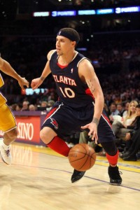 Though no longer a top scorer, Mike Bibby is still a key floor general for the Hawks.