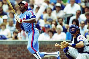 Andre Dawson finally earned induction into the Baseball Hall of Fame in his ninth year of eligibility.