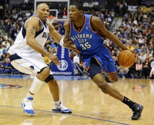 Oklahoma City Thunder fans hope that their team can rise to the same level as the New Orleans Saints.
