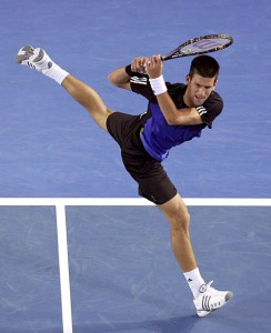 The 22-year-old Djokovic should be reaching his prime in 2010.