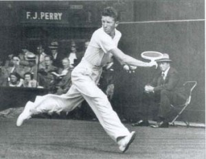 Don Budge, Wimbledon 1937
