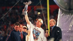 In Super Bowl XXXIII John Elway became the only quarterback to retire after leading his team to the Super Bowl title.