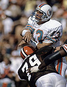 Dan Marino and the Dolphins rallied from a 21-3 deficit to defeat the Browns in the 1985 AFC Playoffs.