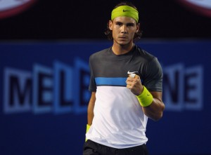 Rafael Nadal and the other tennis elite have hit the ground running in preparation for the 2010 Australian Open.