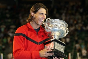 Rafael Nadal will look to repeat his Australian Open success from a year ago.