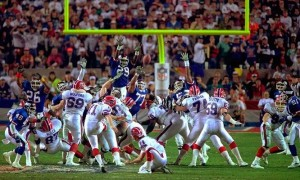 Little did we know when Scott Norwood's kick went wide right in Super Bowl XXV that it would be the first of four straight disappointing Super Bowl losses for the Bills.