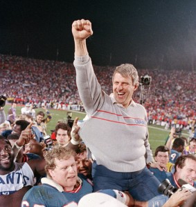Bill Parcells led the Giants to their greatest period of success during the Meadowlands era.