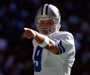 Tony Romo has earned star status in the NFL despite being undrafted out of Eastern Illinois.