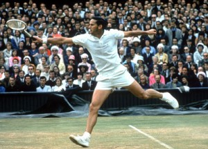 Roy Emerson was the first men's tennis player to win 12 Grand Slam titles.
