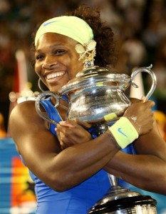 Serena Williams will look for a repeat of her 2009 Australian Open championship.