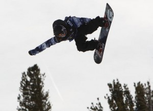 Shaun White is the defending Olympic halfpipe champion.