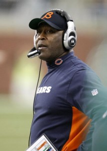 It is unclear whether Lovie Smith has earned the chance to return to Chicago for another season.