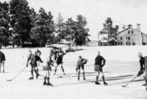 Wobbly ankled youth's like Todd played hockey on frozen ponds long before indoor rinks were the norm.