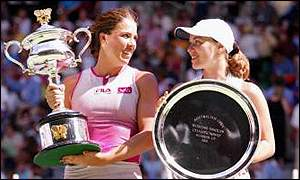 Jennifer Capriati defeated Martina Hingis in a memorable 2002 Australian Open final.