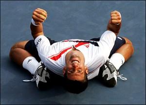 Novak Djokovic claimed the Australian Open title in 2008.