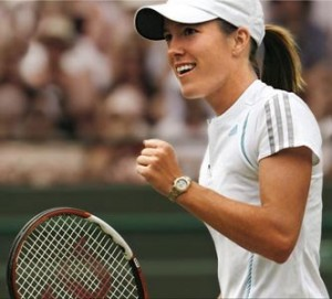 Henin was the number one player in the world at the time of her surprise retirement in May 2008.