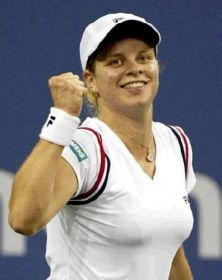 Kim Clijsters will be looking to win her second straight Grand Slam title.