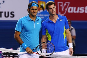 Roger Federer defeated Andy Murray in a Grand Slam final for the second time.