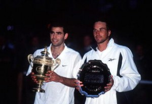 It took time, but Pete Sampras and Pat Rafter eventually developed a hard-fought rivalry.