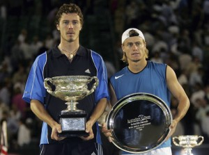 Safin went on to defeat Lleyton Hewitt in the Australian Open Finals.