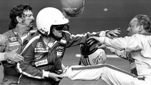 The end of the 1980 Daytona 500 was must see television.