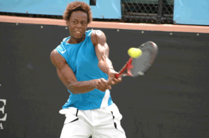 Gael Monfils of France, winner in 2007.