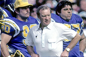 Don Coryell was an offensive innovator with the Air Coryell attack.