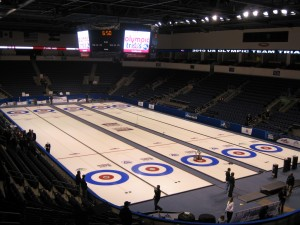 The 2009 U.S. Curling Nationals in Colorado marked the first time the event had been held in an arena.