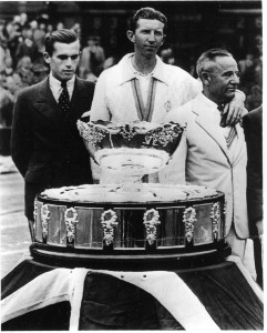 Don Budge and the team from Great Britain won the 1936 Davis Cup.