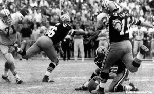 The 63-yard field goal by Tom Dempsey in 1970 was one of the few bright moments for the Saints during their early years.