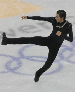 Lysacek combined athleticism and grace to win Olympic gold.