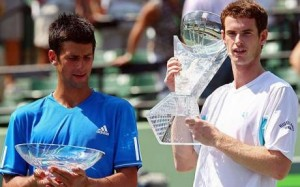 Djokovic's toughest competition this year could be Australian Open finalist Andy Murray.