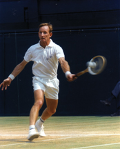 Laver won his second season Grand Slam in 1969, but never won another major.