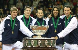 The 2004 Davis Cup team for Spain was dubbed the Dream Team.